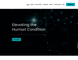 humanityplus.org screenshot