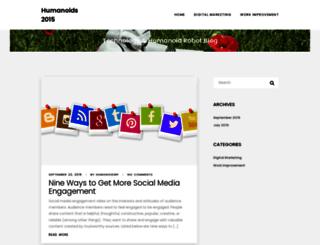 humanoids2015.org screenshot