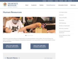 humanresources.smsd.org screenshot