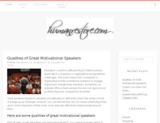 humanrestore.com screenshot