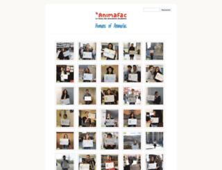 humansof.animafac.net screenshot