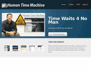humantimemachine.com screenshot