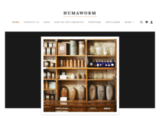 humaworm.com screenshot