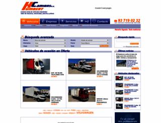 humbertcamions.com screenshot