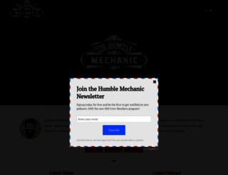 humblemechanic.com screenshot