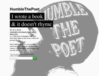 humblethepoet.launchrock.com screenshot