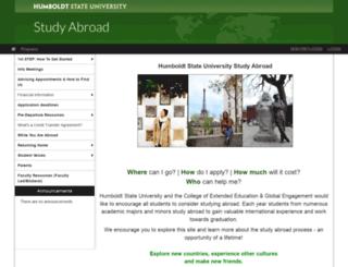 humboldt-international.terradotta.com screenshot