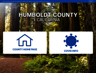 humboldtgov.org screenshot