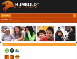 humboldtjr.spps.org screenshot