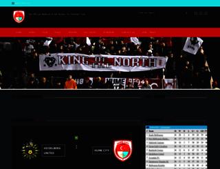 humecityfc.com screenshot
