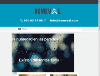 humedadvalencia.com screenshot