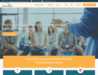 humetrics.com screenshot