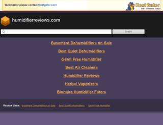humidifierreviews.com screenshot