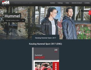 hummel-katalog.cz screenshot