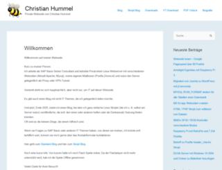 hummel-web.at screenshot