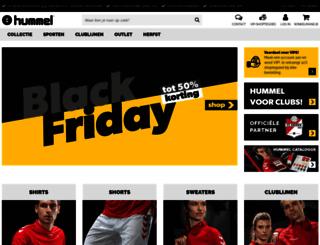 hummelsport.nl screenshot