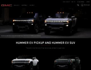 hummer.com screenshot