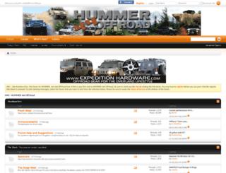 hummer4x4offroad.com screenshot