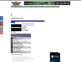 hummerbuyersguide.theautochannel.com screenshot