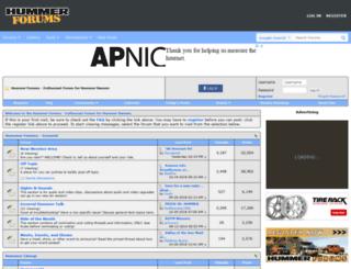 hummerforums.com screenshot
