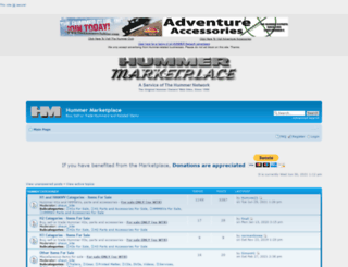 hummermarketplace.com screenshot