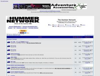 hummernetworkforums.com screenshot