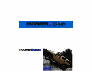 hummerxclub.com screenshot