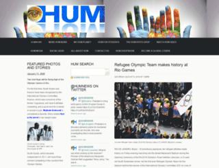 humnews.com screenshot