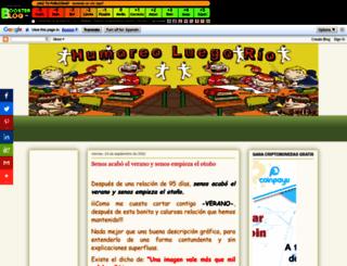 humoreoluegorio.boosterblog.es screenshot