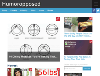humoropposed.net screenshot