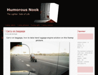 humorousnook.com screenshot