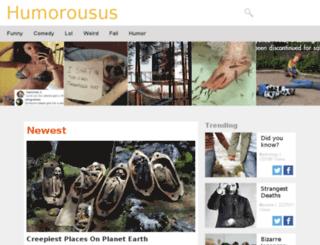 humorousus.com screenshot
