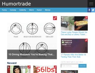 humortrade.net screenshot