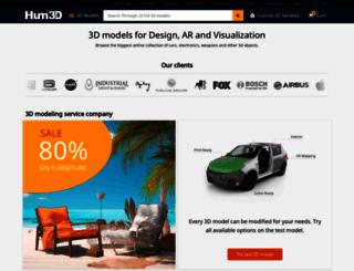 humster3d.com screenshot