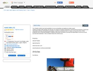 hunc-ven.wowcity.com screenshot