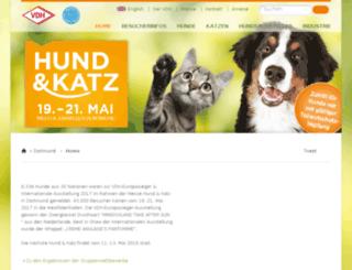 hund-und-heimtier.de screenshot