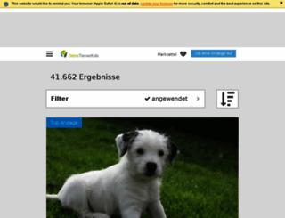 hunde.deine-tierwelt.de screenshot