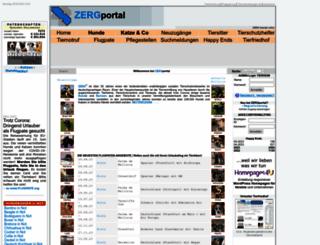 hundepfoten-in-not.zergportal.de screenshot