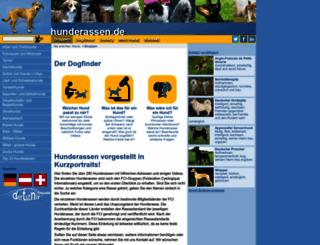 hunderassen.de screenshot