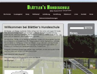 hundesport.ch screenshot