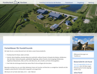 hundeurlaub-und-nordsee.de screenshot