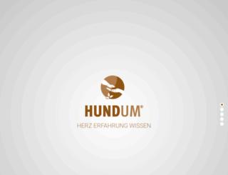 hundum.de screenshot