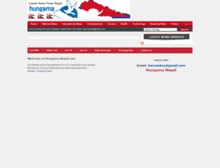 hungamanepal.blogspot.co.uk screenshot