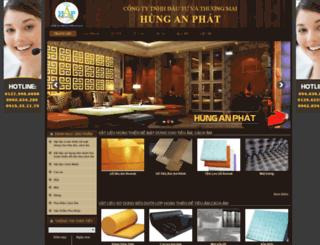hunganphat.bizwebvietnam.com screenshot