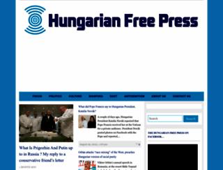 hungarianfreepress.com screenshot