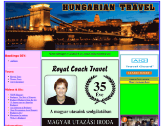 hungariantravel.com screenshot