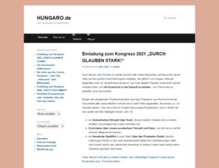 hungaro.de screenshot