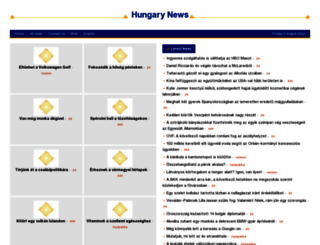 hungary.shafaqna.com screenshot
