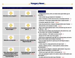 hungary.shafaqna.com screenshot