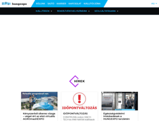 hungexpo.hu screenshot